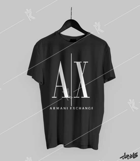 تیشرت مشکی Armani Exchange