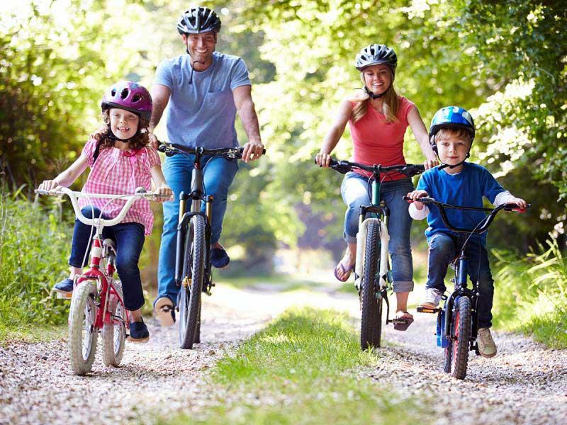 مزایای استفاده از دوچرخه