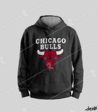 """سویشرت مشکی """" Chicago Bulls """""""