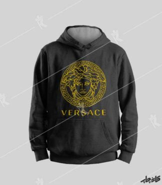سویشرت مشکی Versace