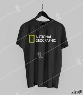 تیشرت مشکی national geographic