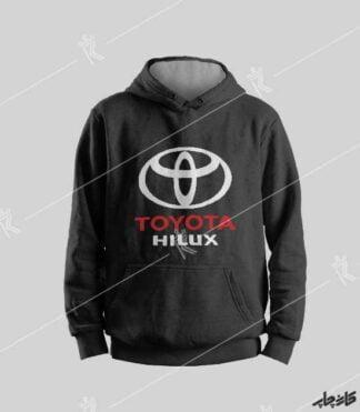 سویشرت مشکی تویوتا هایلوکس Toyota Hilux