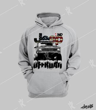 سویشرت ملانژ جیپ آفرود Jeep Off road USA