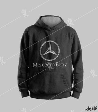 سویشرت مشکی مرسدس بنز Mercedes-Benz