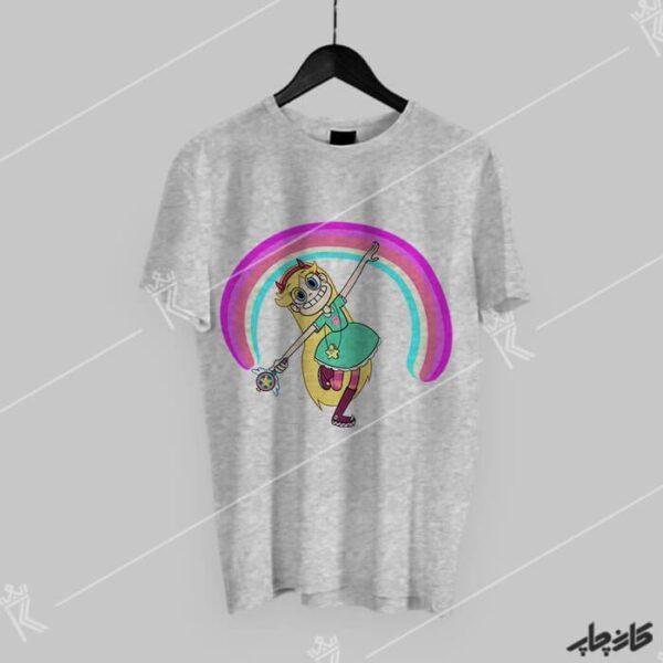 خرید تی شرت استار علیه نیروهای شیطانی